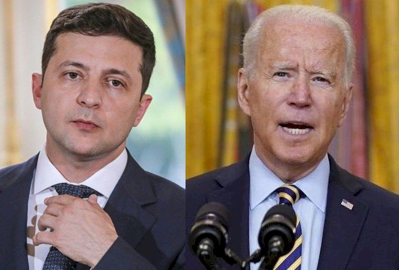 重申支持烏克蘭 拜登9月1日將與澤倫斯基會面