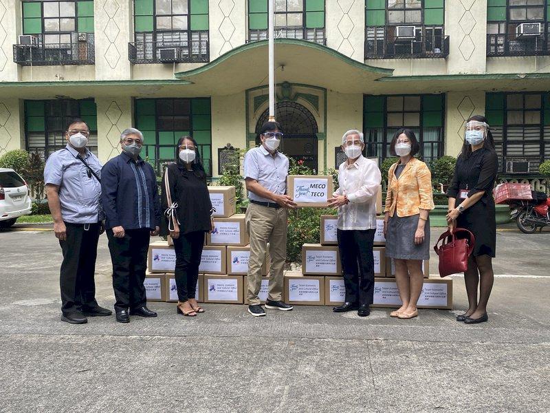 菲律賓現Delta社區傳播 台灣贈製氧機相助