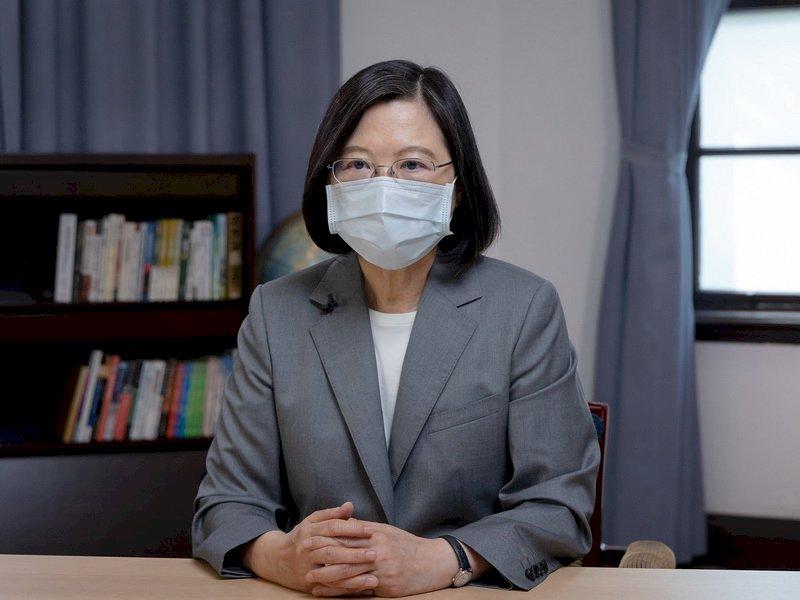 總統:台灣願承擔區域穩定責任 不會將夥伴協助視為當然