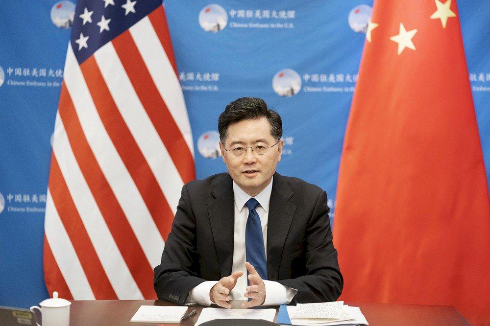 秦剛:美對中戰略嚴重誤判 極端政策仍在延續
