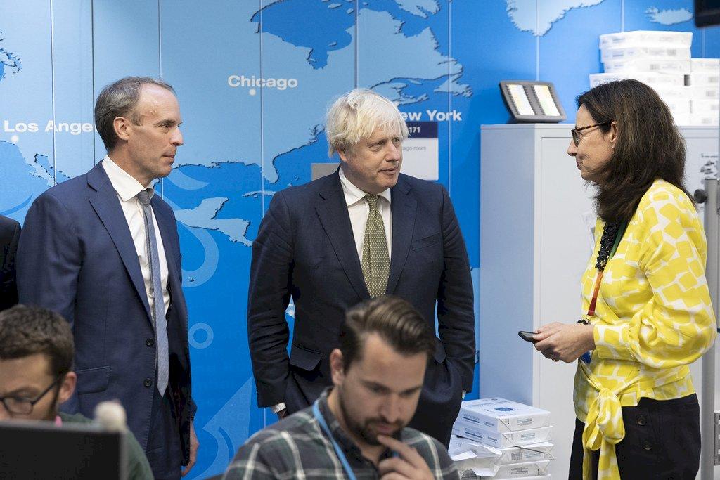 允提供重要支持 強生:英國萬分虧欠阿富汗難民