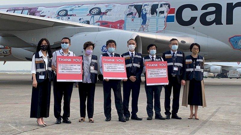 首批BNT疫苗運抵桃園機場 有望9月中開打