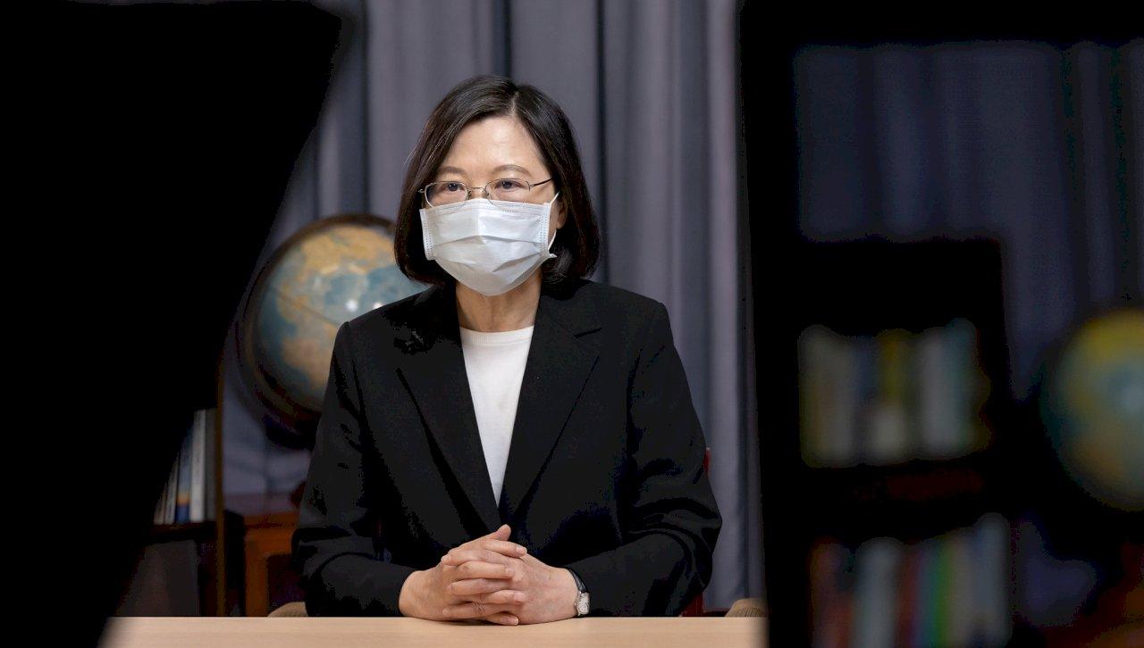 總統:國軍參與防疫防救災任務 是國人最安心支柱
