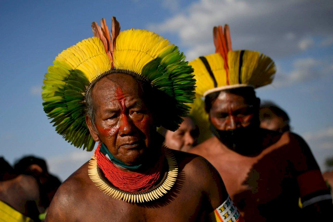 巴西原住民爭土地權 里程碑案例打到最高法院