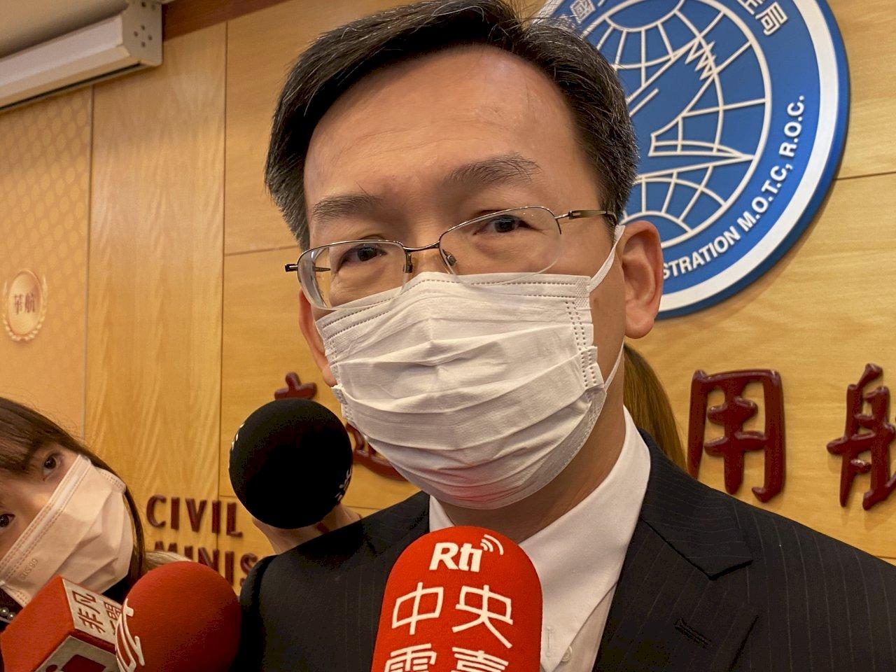 接種COVID-19公費疫苗 林國顯:航空機場人員逾6成有意願