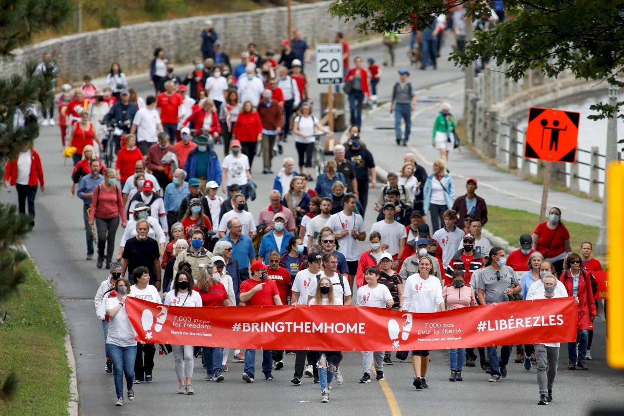 在中國入獄1千天 加拿大人聲援康明凱和史佩弗