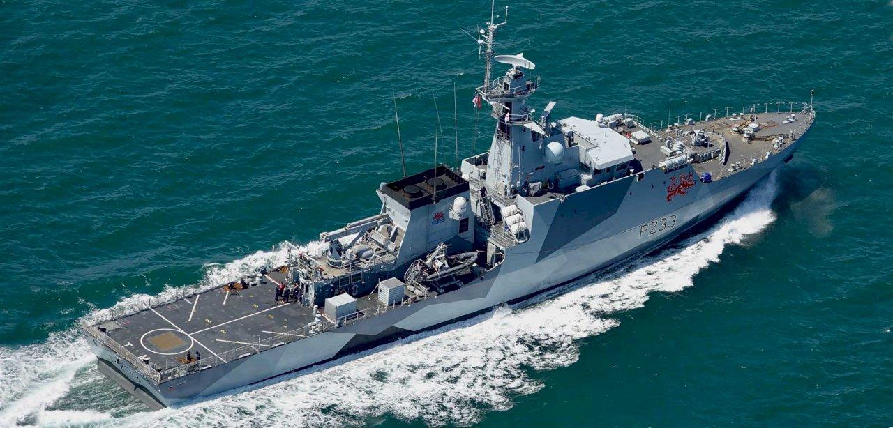 英國兩艘巡邏艦7日啟程 展開印太常態部署