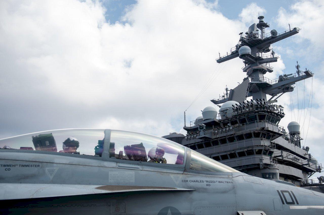 卡爾文森號航艦今年首現南海 展現美國挺航行自由