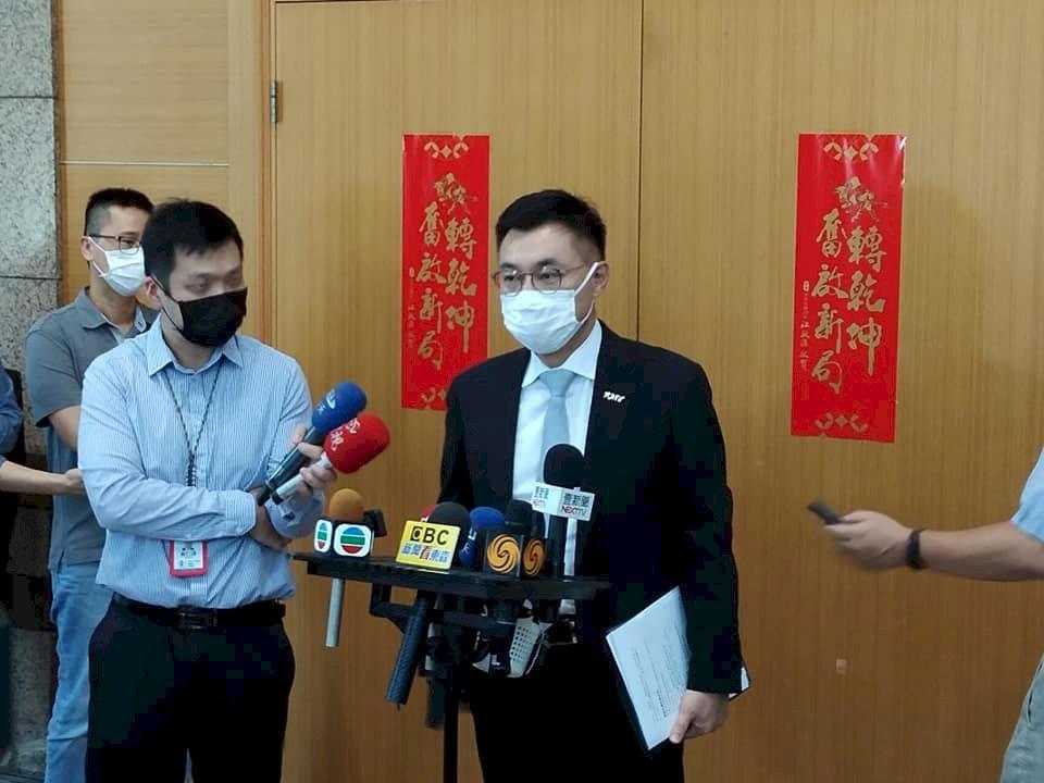 國民黨主席選前衝刺 江啟臣傳遭朱、張「棄保」夾殺