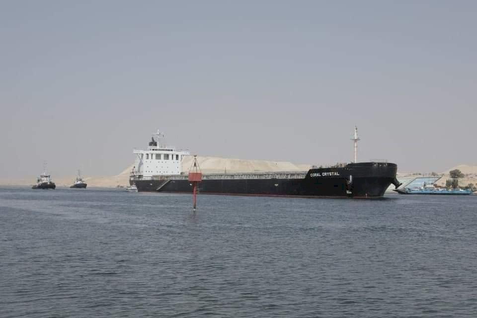 巴拿馬籍散裝貨輪擱淺蘇伊士運河 未影響運河交通