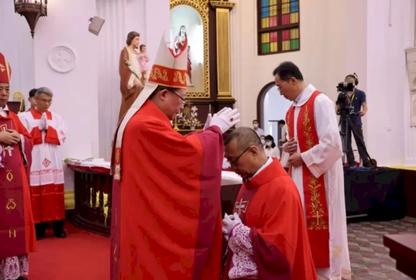 中國自辦教會成歷史 武漢新主教由教宗任命