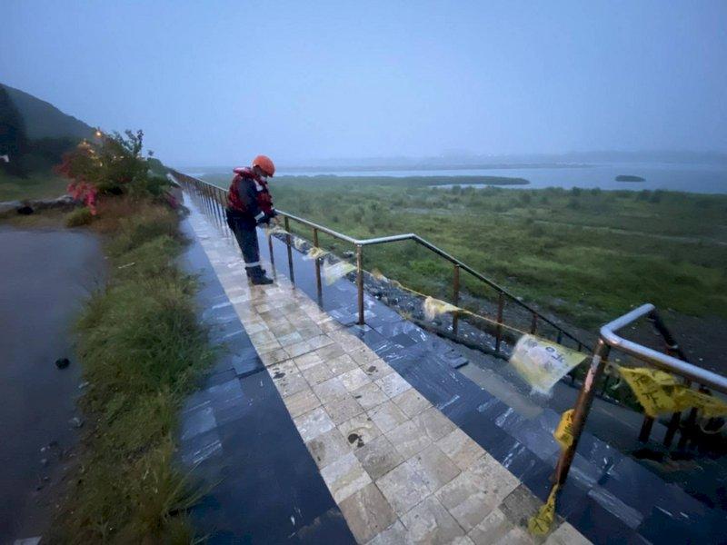 颱風璨樹襲台 農委會發布85條土石流黃色警戒