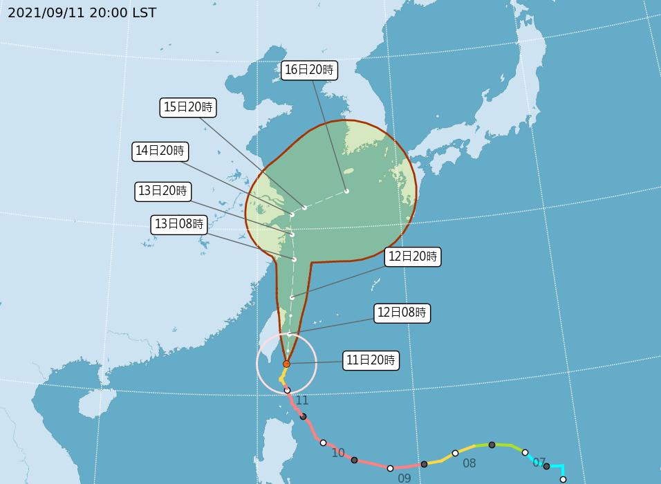 颱風璨樹襲台 截至晚間8時50件災情無傷亡