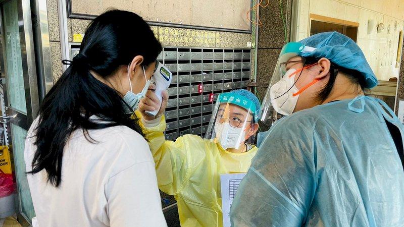 板橋社區專案施打疫苗 蘇揆:將疫情影響限縮在最小範圍