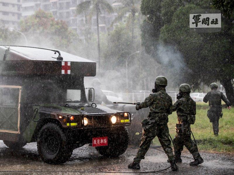 漢光實兵演練登場 第四作戰區操演生物疫病醫療能力