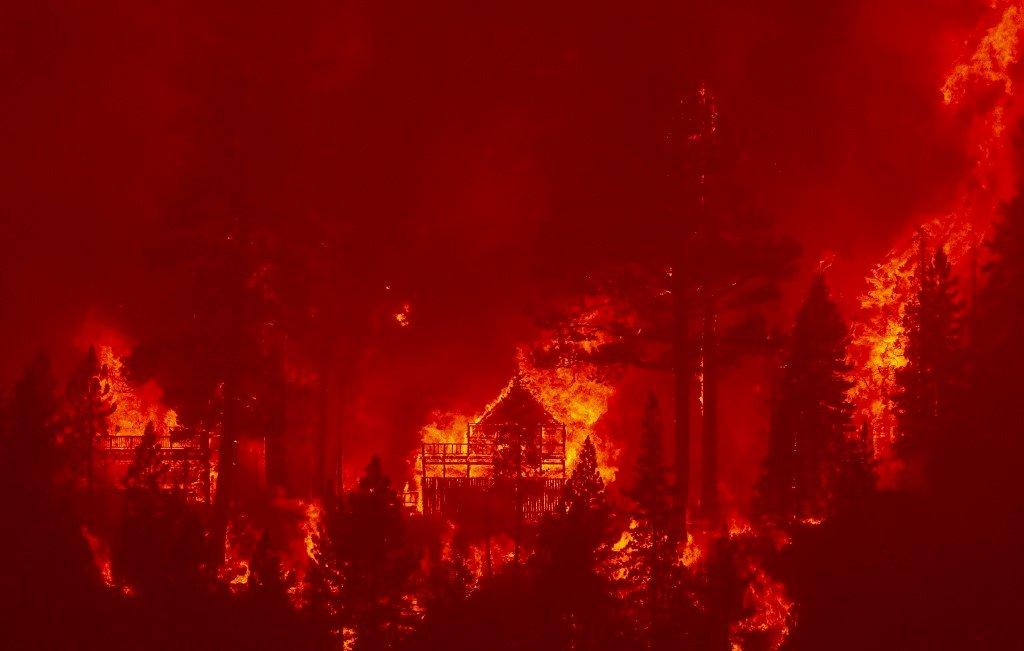 山林大火延燒 拜登批准加州重大災難聲明