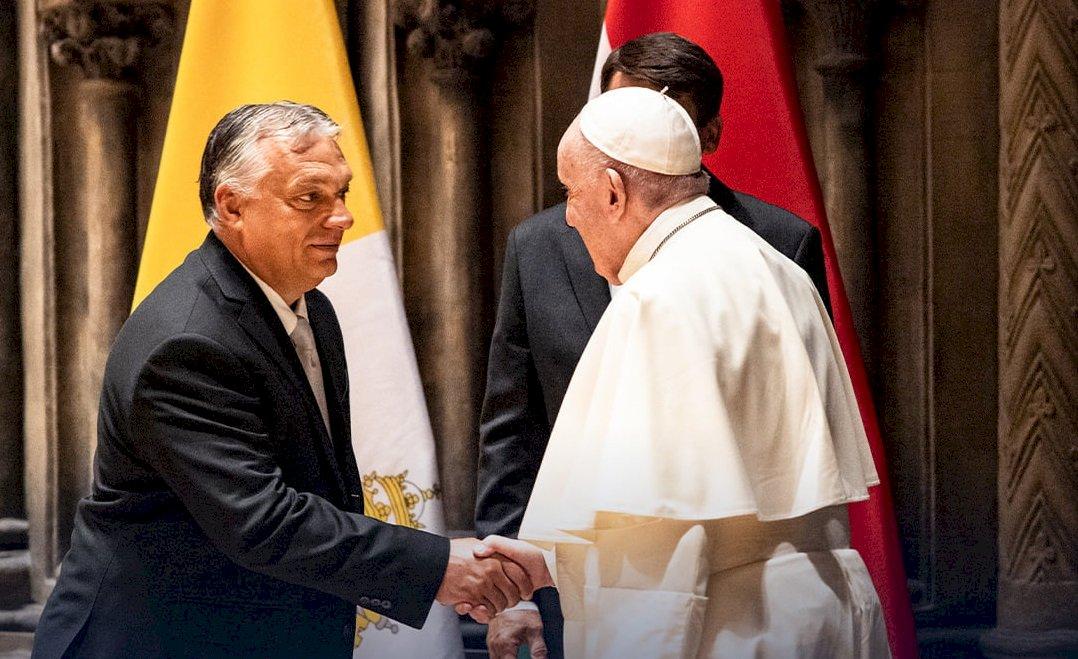 教宗會晤匈牙利反移民總理 籲各方胸懷要更寬大
