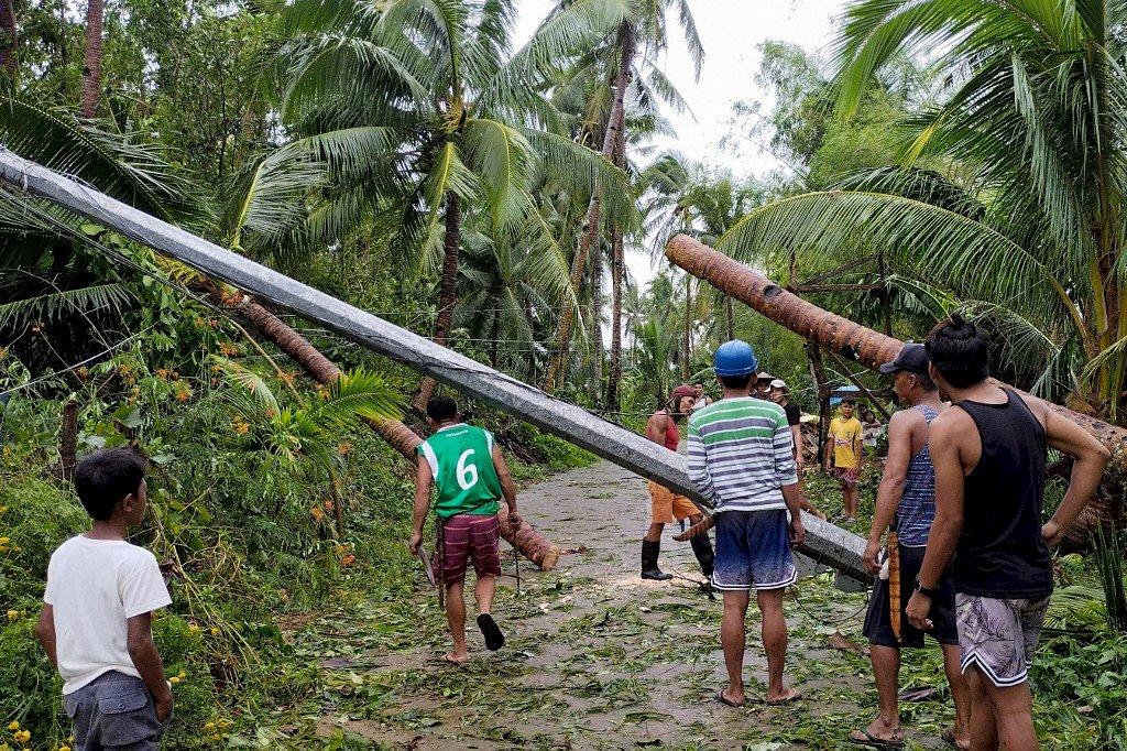 康森颱風威力減弱 越南警告水災與土石流威脅