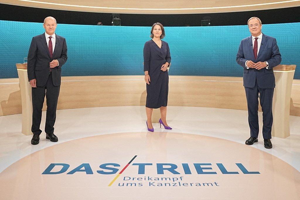 德國總理大選辯論 梅克爾接班人未能揮出致命拳
