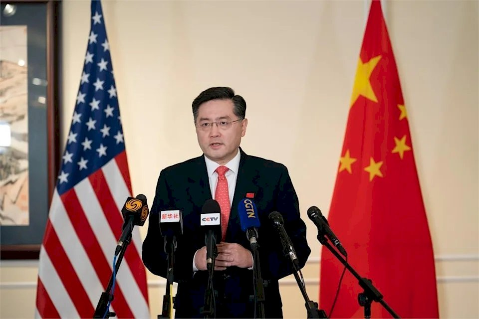 秦剛:中國民主與林肯民主定義 有相似之處