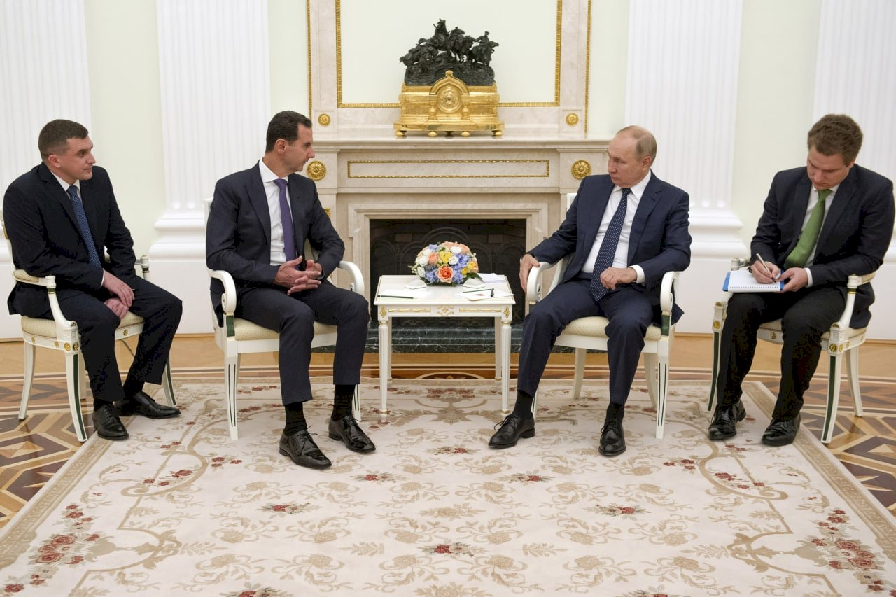 蒲亭與巴夏爾會面 稱外國勢力阻礙敘利亞統一
