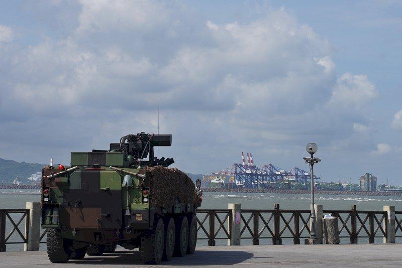 漢光37號演習淡水河防演練  阻敵直攻台北