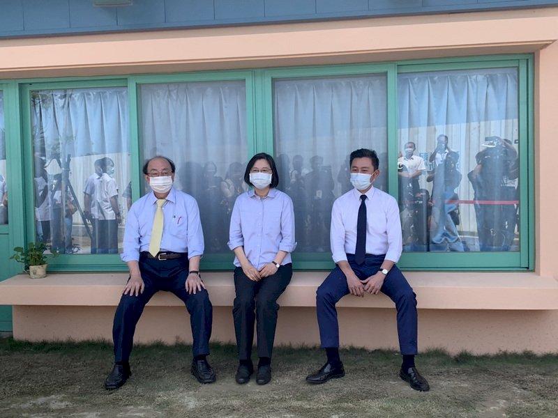 新竹縣市合併升格 總統:須考慮民意及法治配套 讓政策更完整
