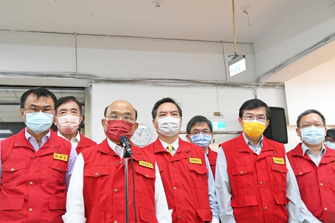 蘇揆:一頭豬染疫2千多億產業就破產 應嚴查重懲