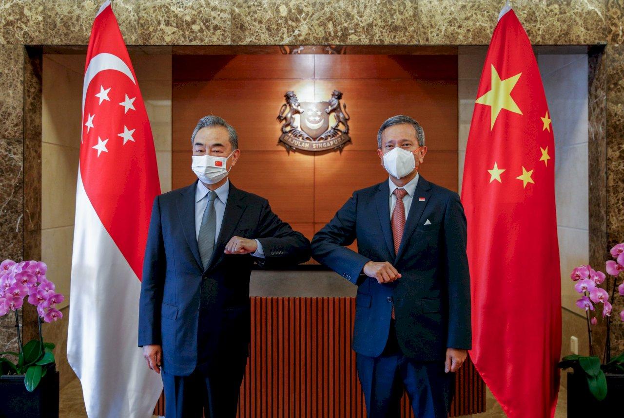 王毅訪問新加坡 星外長歡迎中國加入CPTPP意願