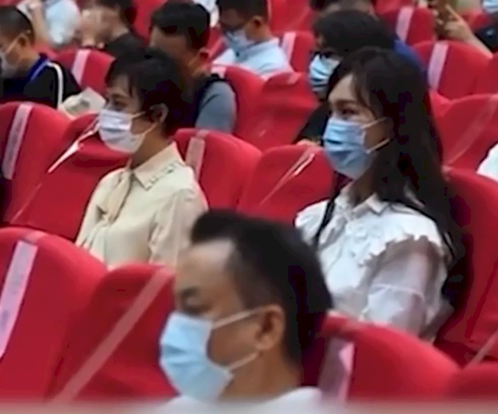 中國明星上藝德培訓班表態永遠跟黨走
