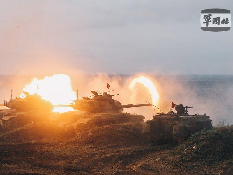 漢光37號演習 國軍操演聯合反登陸作戰