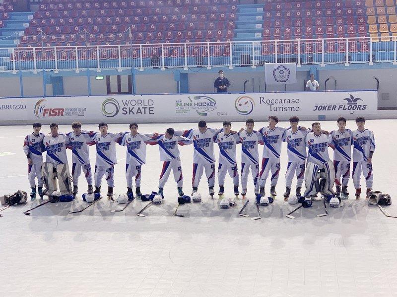 台灣直排曲棍球隊遠征義大利力拚世錦賽進8強
