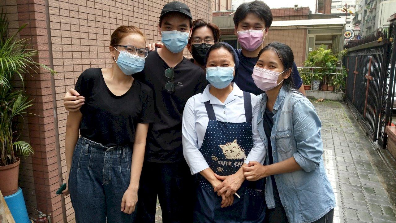 搶救600名窘困境外生 修女急盼國人捐3種物資