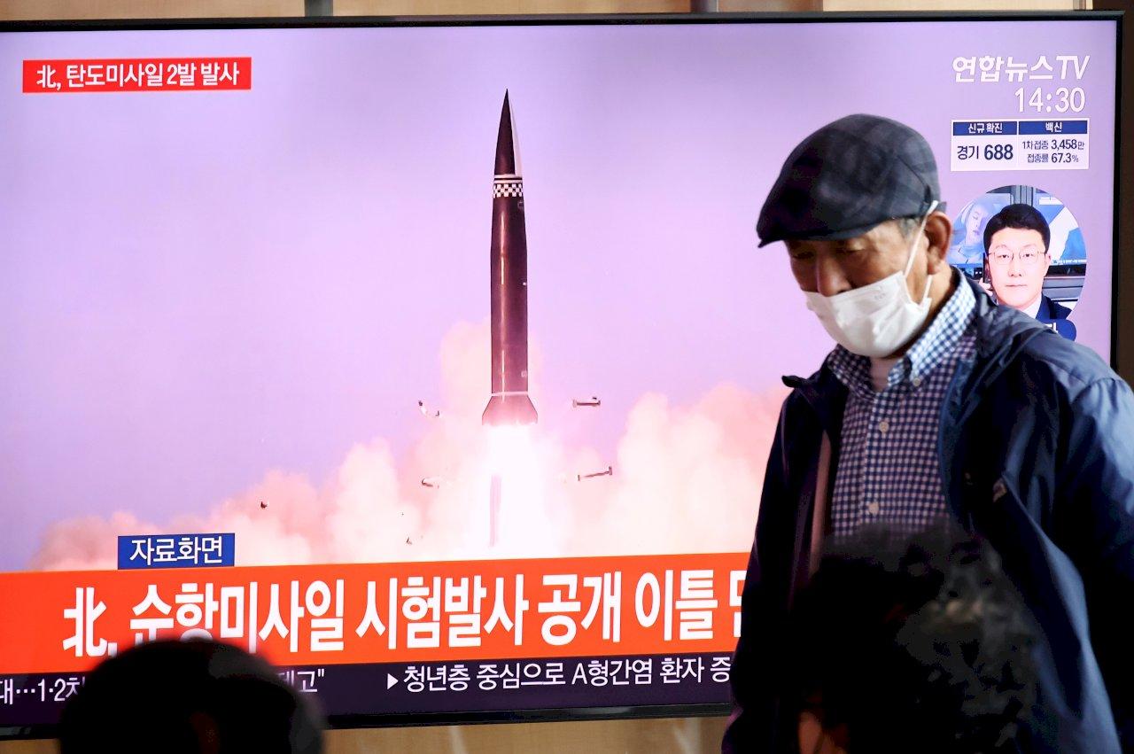 北韓試射飛彈 日美同聲指責違反聯合國決議