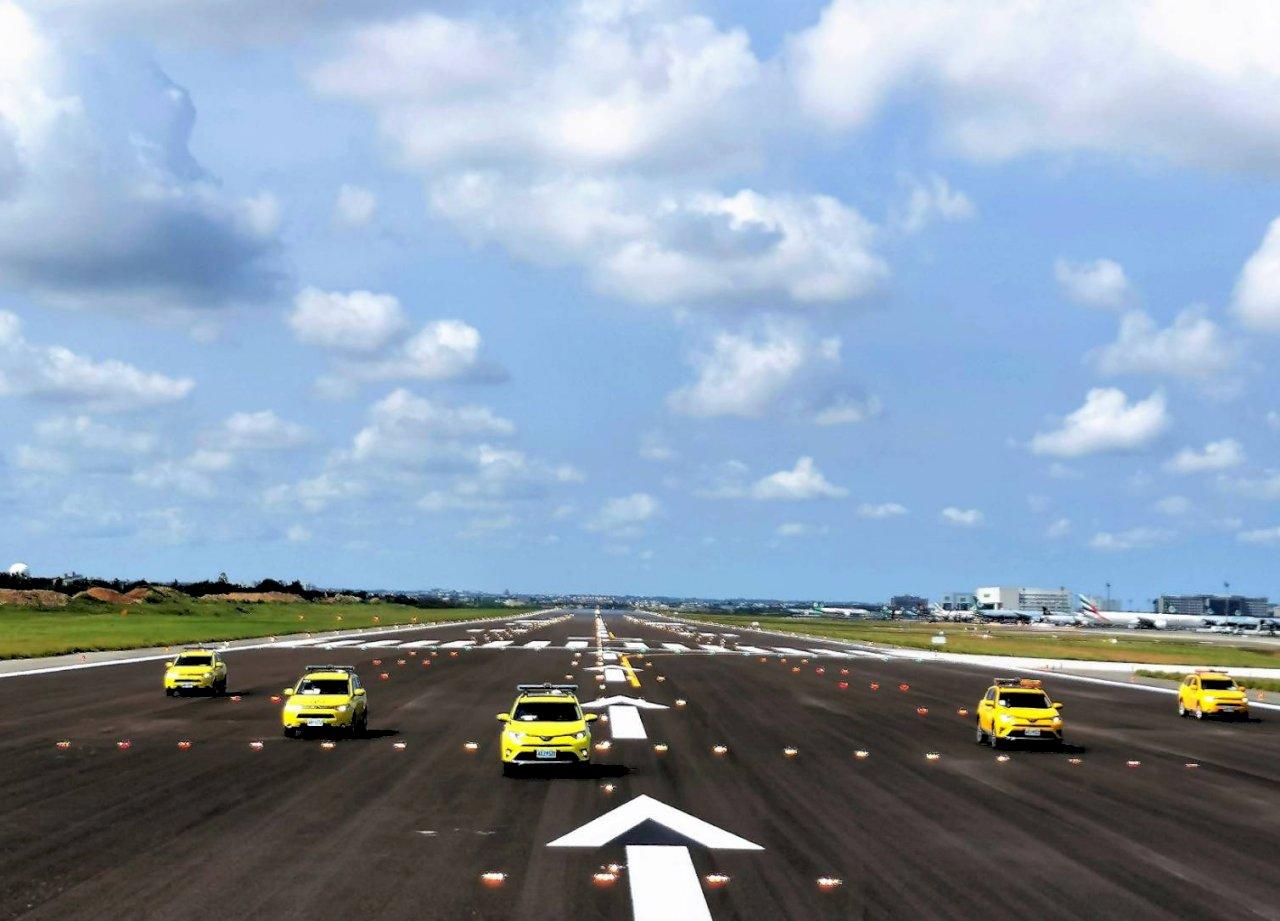 桃機南跑道整建完成 今起恢復雙跑道運作