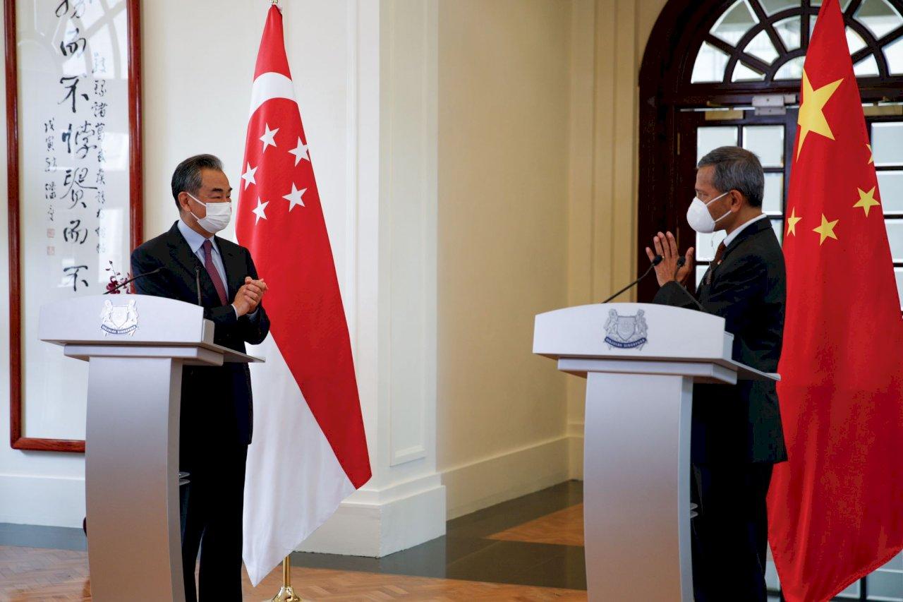 王毅:盼美國像新加坡 客觀理性看待今日中國