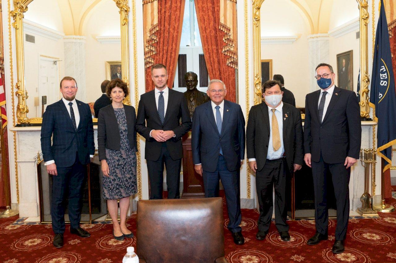 美參院外委會主席會晤立陶宛外長 聚焦台灣議題