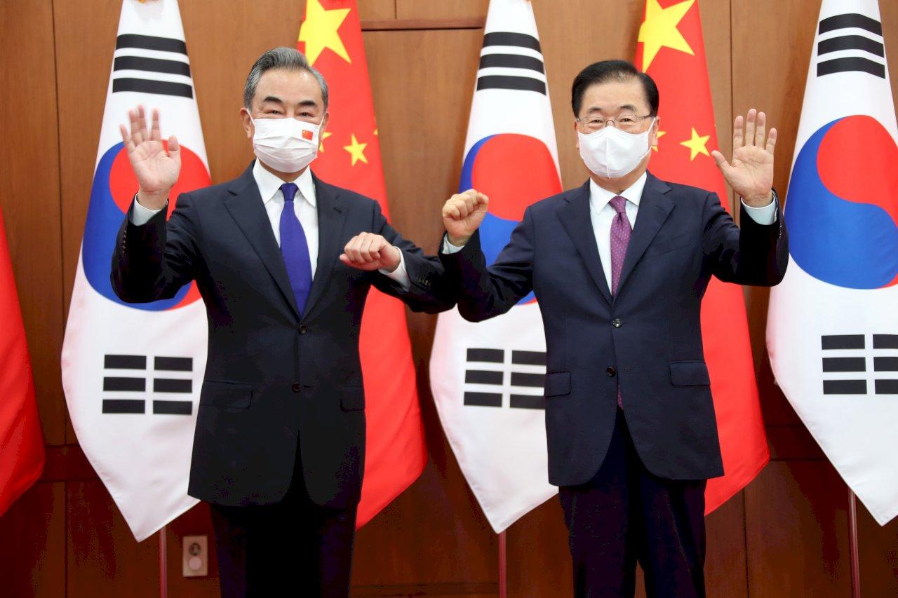 中韓外長會談 觸及強化兩國關係、北韓核談判議題