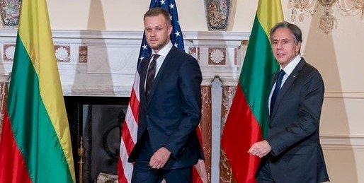 布林肯對立陶宛挺台致敬 共商面對中國施壓