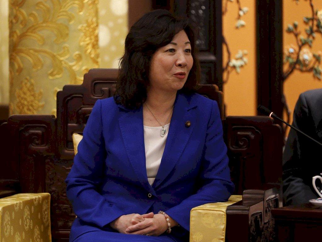 日本前內閣官員野田聖子 宣布參選自民黨總裁