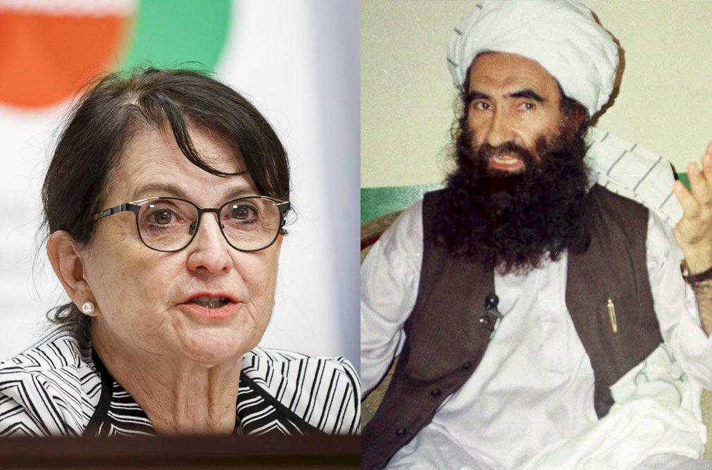 聯合國特使會見美國通緝的阿富汗新內政部長