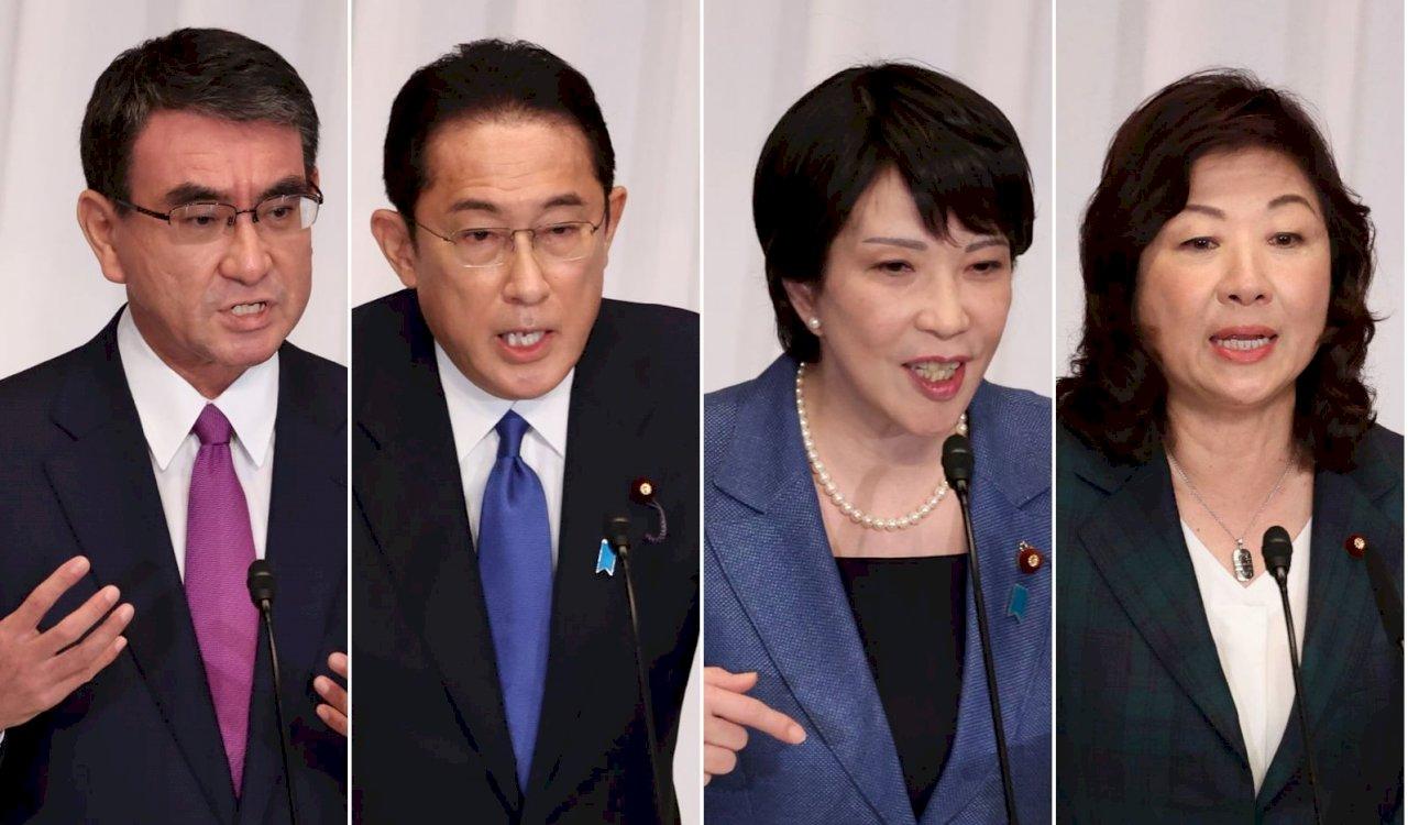 日自民黨總裁選舉發佈公告  4名候選人角逐
