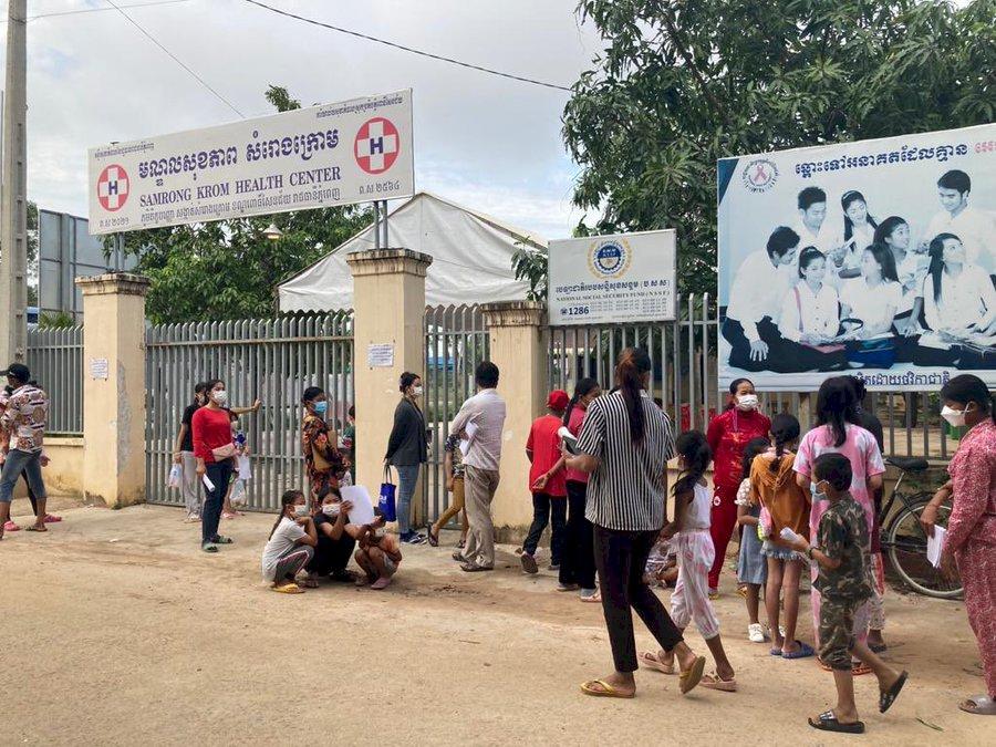 柬埔寨開始為年僅6歲兒童接種疫苗 世衛尚未批准