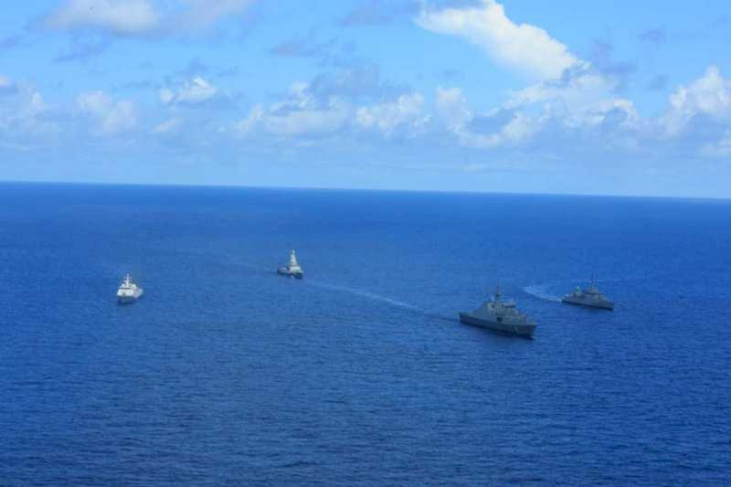 印尼新加坡海上戰鬥演習維持南海安全
