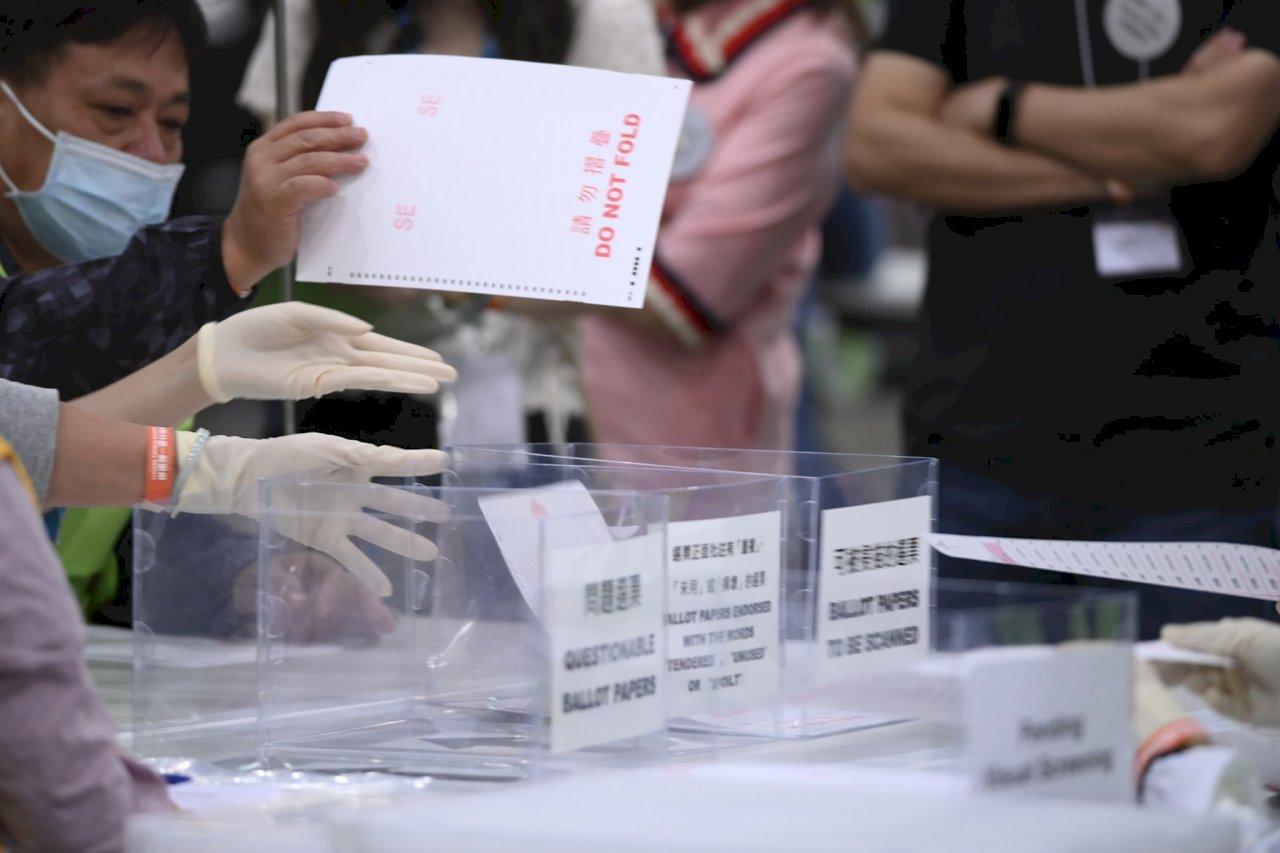 香港選委會選舉結束 明年選出特首