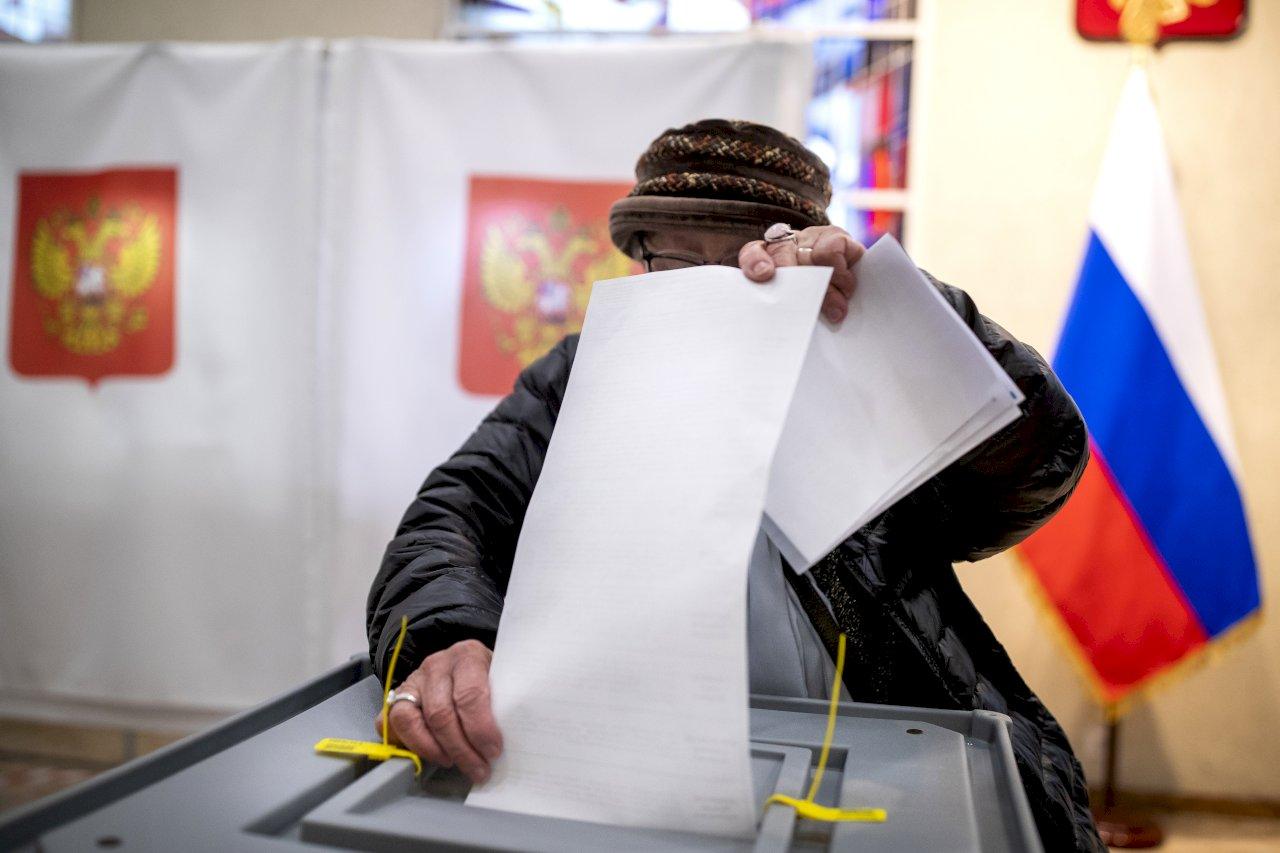 蒲亭的政黨獲大多數選票 反對派指控大規模舞弊