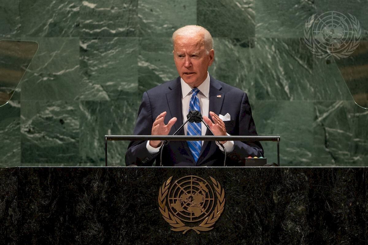 拜登首場聯大演說 未點名中國直言不尋求新冷戰