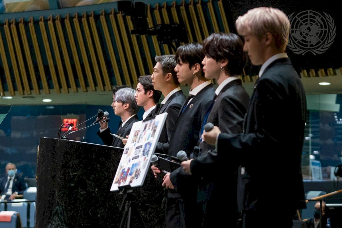 BTS再登聯合國總部 鼓舞年輕世代關注永續發展