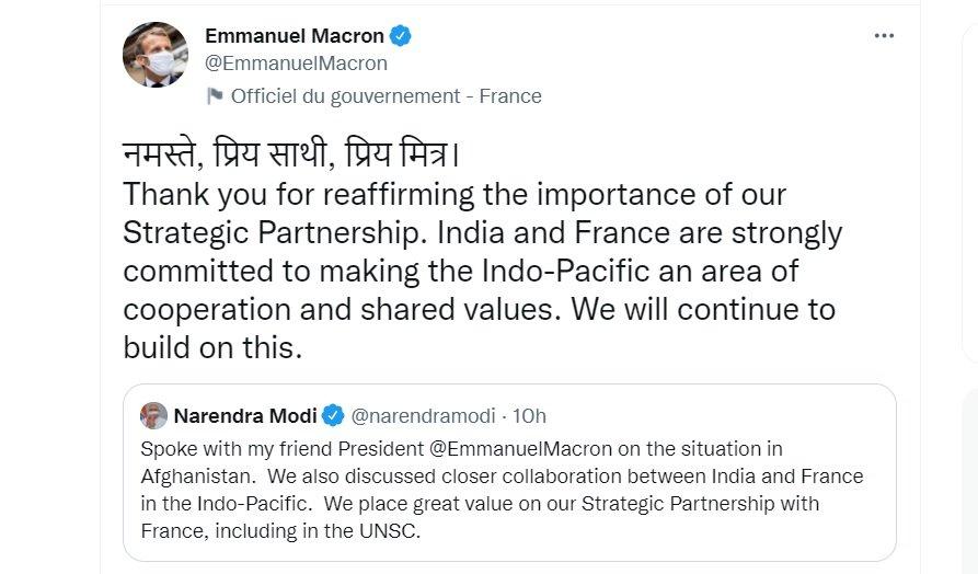 潛艦合約遭澳洲棄單 法國與印度誓在印太聯合行動