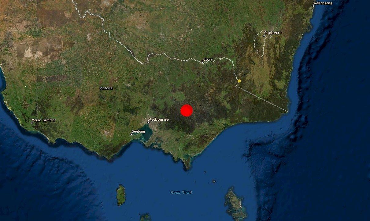 規模6.0罕見淺層地震 澳洲墨爾本附近地牛翻身